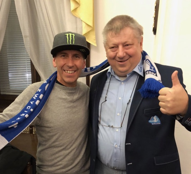 Greg Signs for Rzeszow